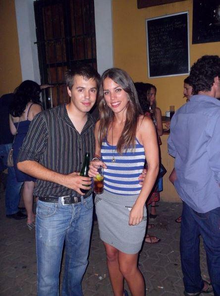 Con Lucía Acosta